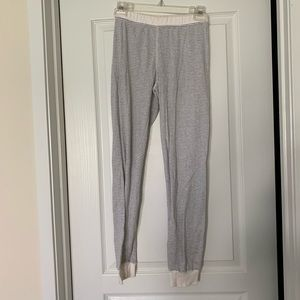 Jcrew striped pajama bottoms